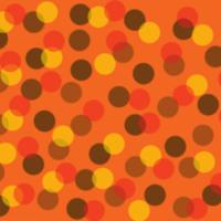 Brown, Yellow & Orange Dots