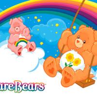 Care Bear on Swing