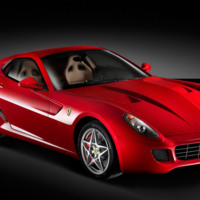 Red Ferrari 599 GTB 320