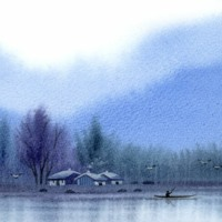 Winter on a Lake