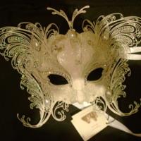 White Sparkling Masquerade