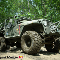 Army Green Jeep