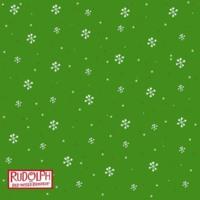 Red.White & Green Snowflakes