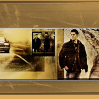 Supernatural Sepia Collage
