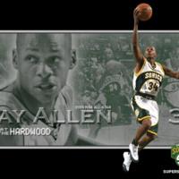 Ray Allen Seattle Sonics