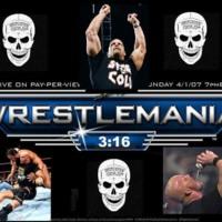 Wrestlemania Stone Cold Steve Austin