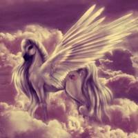 Lavender Pegasus Dreams