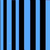 Blue & Black Stripes