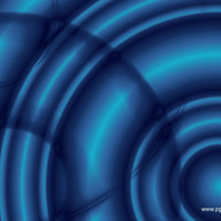 Blue Light Circles & Balls
