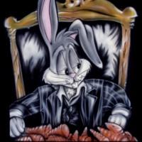 Bugs Bunny Carrot Gangster