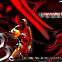 Dwayne Wade ballin