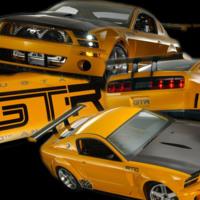 Yellow Mustang GTR