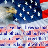 Our Freedom was Bought with Blood