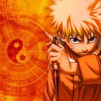 Naruto-Kun Orange Yin Yang