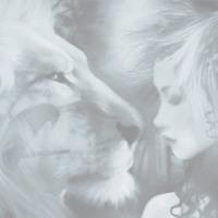 Lion & Woman