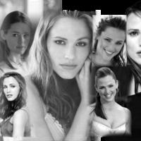 Jennifer Garner in Black & White