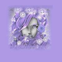 Purple Sparklin Woman
