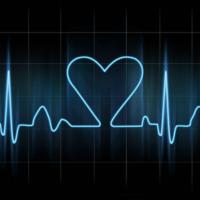 Blue heartbeat