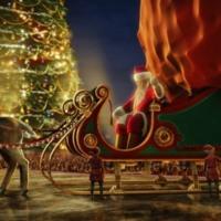 Polar Express Santa Sleigh
