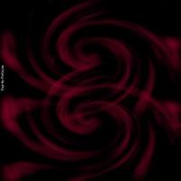 Maroon Swirls on Black