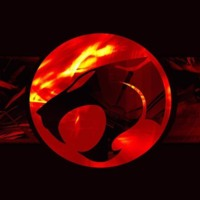 Thundercats Red Flames Logo