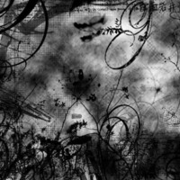 Black Swirls on Grey