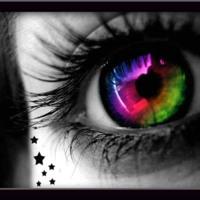 Rainbow Eye & Stars