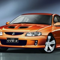 Orange Holden Monaro