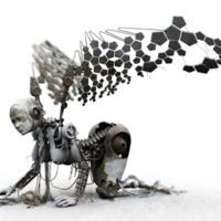 Mechanical Fallen Angel