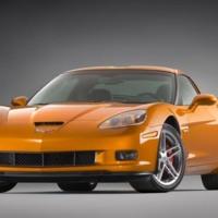 Orange Chevrolet Corvette