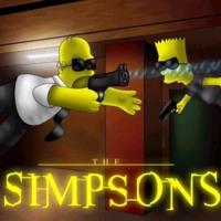 The Simpsons Matrix Style