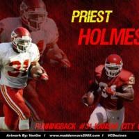 Priest Holmes Kansas City Chiefs