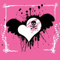 Winged Skull Heart