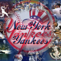 New York Yankees Photo Collage