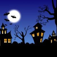 Spooky Houses & Bats