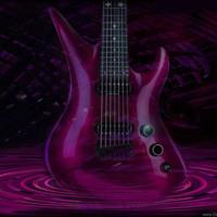Fuschia Electric Guitar