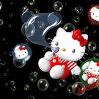 Bubble Hello Kitty