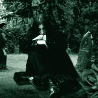 Goth Guy in Graveyard