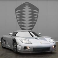 Silver Koenigsegg CCX