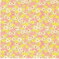 Pink & yellow floral