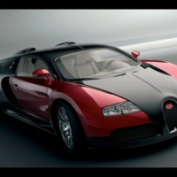 Red & Black Bugatti Veyron