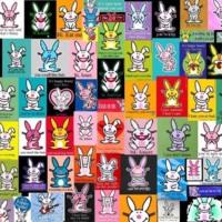 Happy Bunny Collage