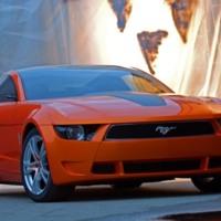New Orange Mustang