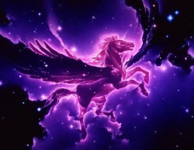 online retailer 45ab0 22c0e Purple Pegasus Tumblr Banners - Pimp-My-Profile.com