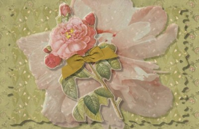 Vintage Pink Roses Tumblr Banners