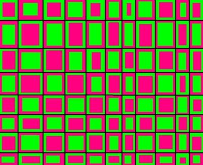 Pink Lime Green Boxes Facebook Timeline Cover Backgrounds Pimp