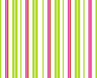 Lime Green White Hot Pink Stripes Facebook Timeline Cover