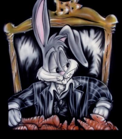 Bugs Bunny Carrot Gangster Facebook Timeline Cover Backgrounds